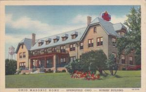 Ohio Springfield Nurse's Building Ohio Masonic Home Curteich
