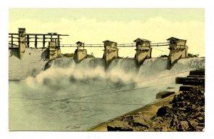Panama - Canal Zone. Gatun Spillway