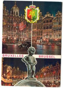 Belgium, Bruxelles, Brussels, used Postcard