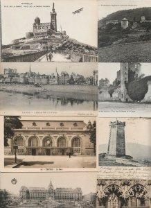 France Lourdes Nantes Blois Paris And More Postcard Lot of 22 01.04