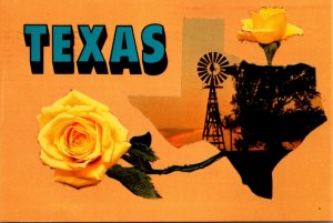 Texas With Yellow Rose 1986