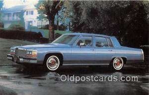 Postcard Post Card Cadillac for 1980