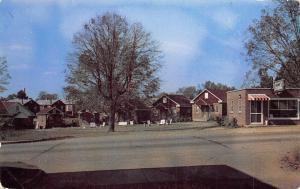 Opelika Alabama~Andys Tourist Cottages~1960 Postcard