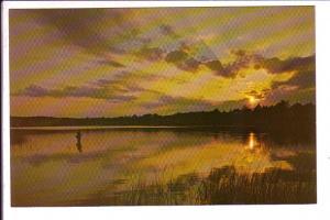Sunset at Scargo Lake, Dennis, Cape Cod, Massachusetts,