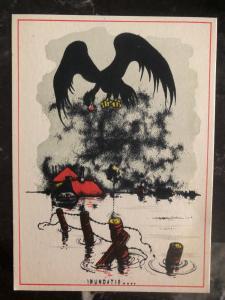 Mint Netherlands Picture Postcard Inundation WW2