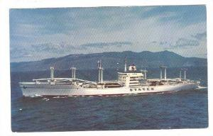 States Steamship Company's advsnced Mariner-class white cargoliner, Ocean Lin...
