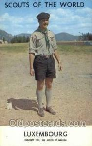 Luxembourg Boy Scouts of America, Scouting Postcard, Post Cards, Copyright 19...