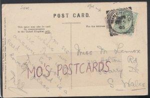 Family History Postcard - Lennox - 219 Holton Road, Barry D?, Wales  RF3215