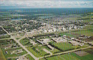 Canada Aerial View Fairview College Fairview Alberta