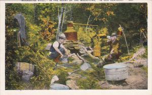 Moonshine Still In the Heart of the Mountains, In Old Kentucky, PU-1945