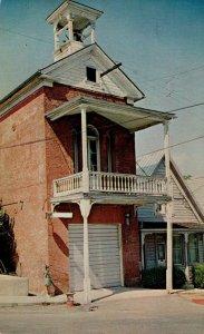 California Nevada City Old Firehouse No 2 1973