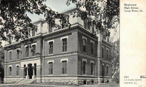Camp Point Illinois~Maplewood High School~Cross Marks My Room~CU Williams 1910