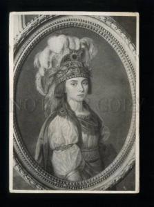 165128 ZHEMCHUGOVA Rus serf actress soprano OPERA singer OLD