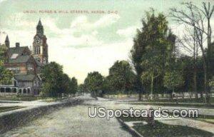 Union, Forge & Mill Streets - Akron, Ohio