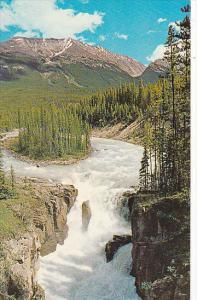 Canada Alberta Jasper Sunwapta Falls