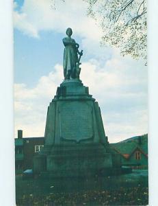 Unused Pre-1980 MONUMENT SCENE St. Johnsbury Vermont VT F1951