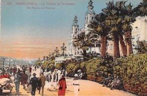 Le Theatre et Terrasses Monte Carlo Unused