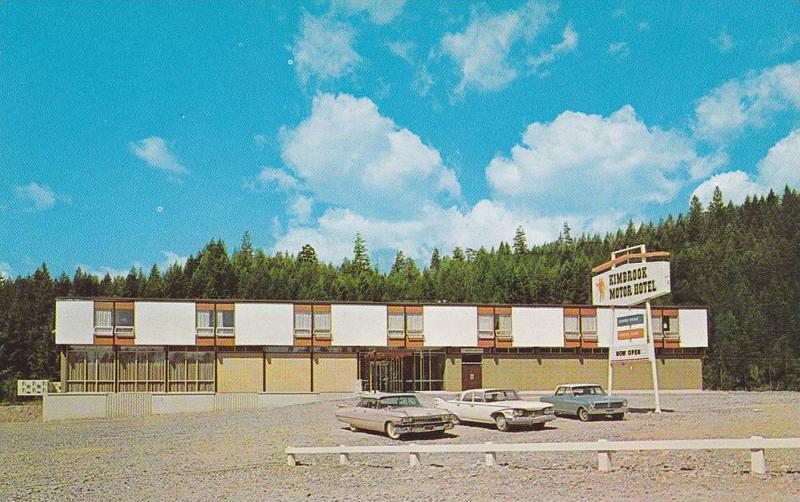 Kimbrook Motor Hotel between Kimberley & Cranbrook, British Columbia, Canada,...