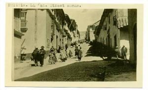 RP, Street Scene, La Paz, Bolivia, 1900-10s