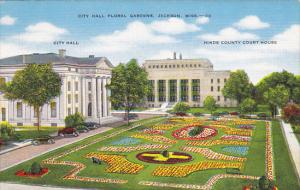 Mississippi Jackson City Hall Floral Gardens