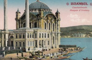 Constantinople (Istanbul) , Turkey , 1900-10s ; Mosquee d'Ortakeuy