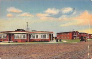 Vernon Texas Historic Bldgs Street View Antique Postcard K46945