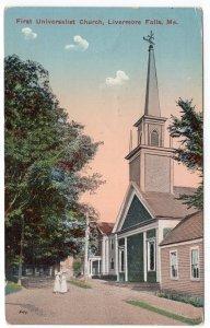 Livermore Falls, Me, First Universalist Church