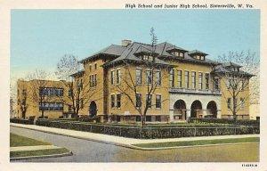 High School and Junior High School, Sistersville, WV