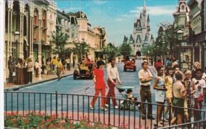 Main Street U S A Walt Disney World Orlando Florida