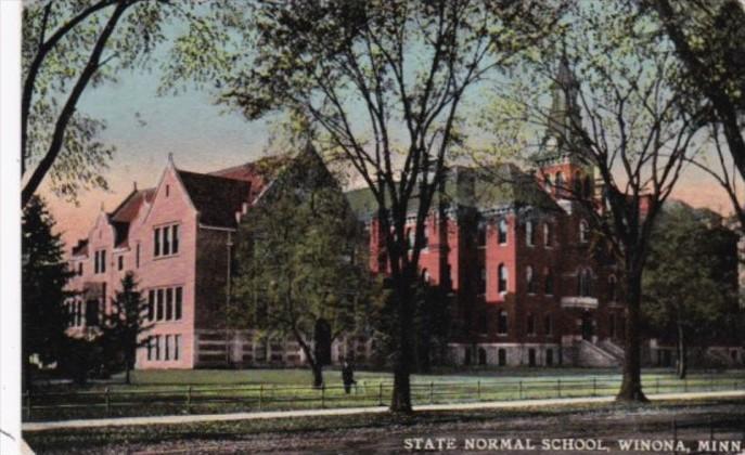 Minnesota Winona The State Normal School 1911