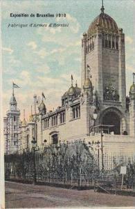 Belgium Bruxelles Exposition 1910 Fabrique d'Armes d'Herstal