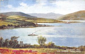 Rothesay Bay and Ardbeg Point Bute Panorama 1945