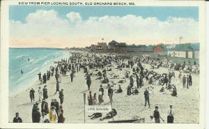 Old Orchard Beach, Me., View From Pier Looking South