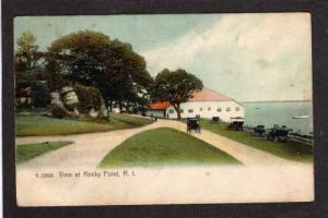 RI Rocky Pt Dance Hall WARWICK RHODE ISLAND Postcard