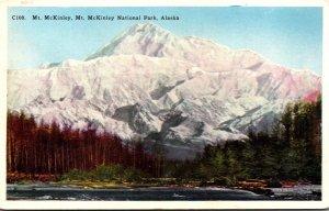 Alaska Mt McKinley National Park View Of Mt McKinley