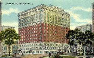 Hotel Tuller Detroit MI Unused