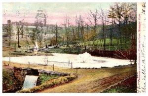 Connectiicut Meriden ,Cascades and Fountain , Hubbard Park
