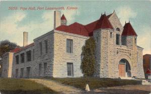 8380  KS Fort Leavenworth    Pope Hall Prison