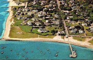 Massachusetts Cape Cod Hyannisport Aerial View Kennedy Compound