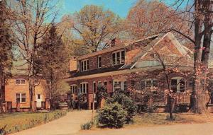 Potomac Maryland Rockwood Girl Scout Center Vintage Postcard K77642