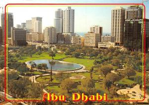 United Arab Emirates Abu Dhabi Park Promenade Panorama