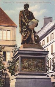 Strassburg i. E. , Mounument Gutenburg , France , 00-10s