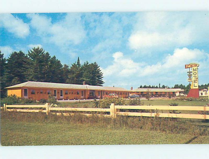 Unused Pre 1980 PINE HILL MOTEL North Bay ON M3291