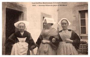 Breton Jeunes Filles de pays, Young country girls