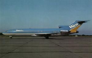 WIEN AIR ALASKA Boeing 727-277 Advanced (1980s) Airplane AeroGem Postcards