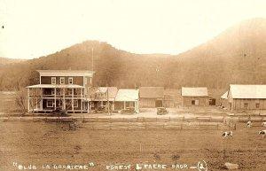 C.1910 RPPC Pioneer Bar, Quebec, Canada Postcard P127