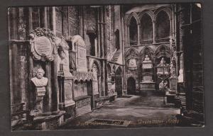 Poet's Corner East Side, Westminster Abbey, London - Unused - Corner Wear