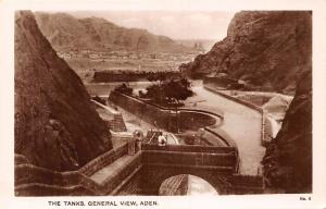Yemen Aden The Tanks, General View, Natives