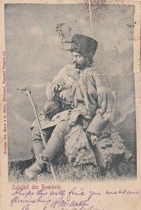 Salutari Din Romania Antique Postcard