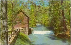 McHargue Mill on Little Laurel River, London, Kentucky, KY, Chrome
